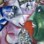 """""""Mi aldea y yo"""" 1911, MoMA"""