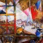 París desde mi ventana 1913, Guggenheim NY
