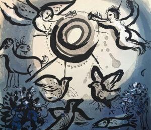 Chagall: exposición en Barcelona
